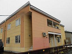 10・9ハイツB棟[1階]の外観