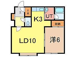Fami[1階]の間取り