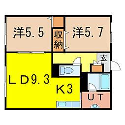 With II[2階]の間取り