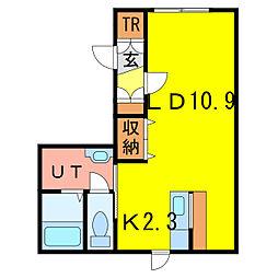 RENI[1階]の間取り