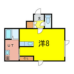 OLIVEIII[1階]の間取り