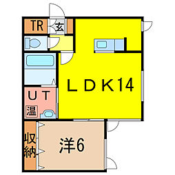 6−22MS新築[2階]の間取り