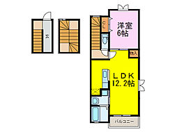 Confort Casa C[3階]の間取り