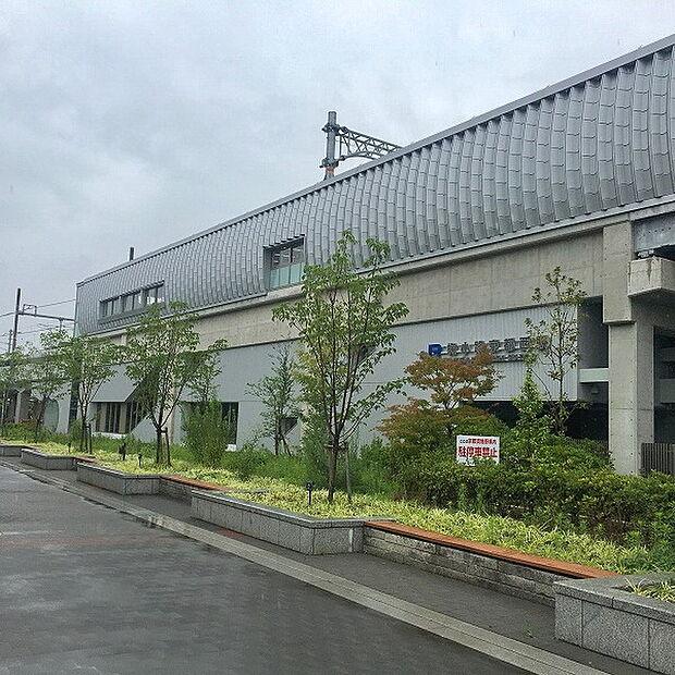 梅小路京都西駅(JR 山陰本線)まで870m
