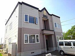 札幌市営東西線 新さっぽろ駅 バス28分 美里団地停下車 徒歩2分の賃貸アパート
