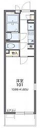 JR京浜東北・根岸線 さいたま新都心駅 徒歩11分の賃貸マンション 1階1Kの間取り