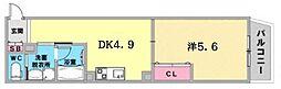 JR東海道・山陽本線 神戸駅 徒歩6分の賃貸マンション 1階1DKの間取り