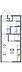 間取り,1K,面積23.18m2,賃料4.1万円,JR鹿児島本線 鳥栖駅 徒歩26分,JR鹿児島本線 鳥栖駅 バス7分 門戸口下車 徒歩4分,佐賀県鳥栖市宿町1440-1