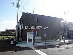 JR津山線 法界院駅 バス5分 三野下車 徒歩4分の賃貸アパート