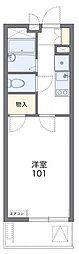 JR京浜東北・根岸線 さいたま新都心駅 徒歩13分の賃貸マンション 3階1Kの間取り