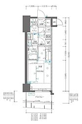 JR京浜東北・根岸線 関内駅 徒歩3分の賃貸マンション 7階1Kの間取り