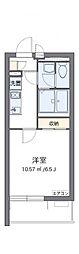 JR京浜東北・根岸線 さいたま新都心駅 徒歩12分の賃貸マンション 1階1Kの間取り