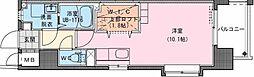Riviere Champ 宮田町 9階ワンルームの間取り