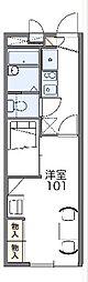 名鉄名古屋本線 中京競馬場前駅 徒歩11分の賃貸アパート 1階1Kの間取り