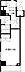 間取り,1K,面積28.22m2,賃料7.3万円,小田急江ノ島線 湘南台駅 徒歩4分,相鉄いずみ野線 湘南台駅 徒歩4分,神奈川県藤沢市湘南台2丁目