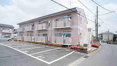 外観,2DK,面積40.04m2,賃料3.7万円,JR東北本線 古河駅 徒歩22分,,茨城県古河市松並2丁目