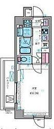 東京メトロ丸ノ内線 四谷三丁目駅 徒歩7分の賃貸マンション 2階1Kの間取り