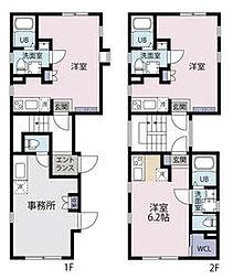 都営三田線 白山駅 徒歩10分の賃貸マンション 4階ワンルームの間取り