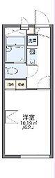 つくばエクスプレス つくば駅 バス27分 テクノパーク桜下車 徒歩5分の賃貸アパート 2階1Kの間取り