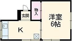 北習志野駅 1.3万円