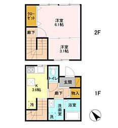 JR総武本線 成東駅 徒歩12分の賃貸テラスハウス