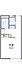 間取り,1K,面積20.28m2,賃料2.3万円,東武伊勢崎線 足利市駅 徒歩17分,,栃木県足利市通5丁目3197-7
