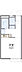 間取り,1K,面積20.28m2,賃料2.4万円,東武伊勢崎線 足利市駅 徒歩17分,,栃木県足利市通5丁目3197-7