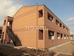 JR成田線 成田駅 バス10分 獅子穴中央下車 徒歩5分の賃貸アパート