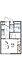 間取り,1K,面積19.87m2,賃料3.4万円,東武伊勢崎線 足利市駅 徒歩16分,,栃木県足利市朝倉町2丁目2-19