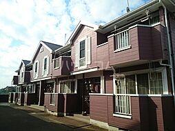 京成本線 京成成田駅 バス16分 獅子穴下車 徒歩6分の賃貸アパート