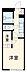 間取り,1K,面積20.81m2,賃料4.1万円,名古屋市営桜通線 瑞穂区役所駅 徒歩14分,,愛知県名古屋市瑞穂区直来町4丁目