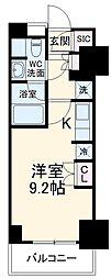東京メトロ有楽町線 地下鉄赤塚駅 徒歩3分の賃貸マンション 12階ワンルームの間取り