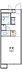 間取り,1K,面積20.37m2,賃料3.6万円,東武伊勢崎線 野州山辺駅 徒歩16分,,栃木県足利市南大町208
