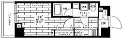 都電荒川線 学習院下駅 徒歩4分の賃貸マンション 9階1Kの間取り