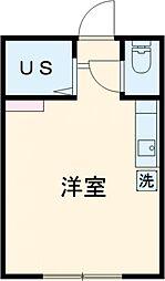 仮)アーバンプレイス高田馬場4丁目A棟 1階ワンルームの間取り