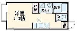 (仮称)大宮区大成町計画 2階1Kの間取り