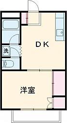ハイツ麹町 3階1DKの間取り