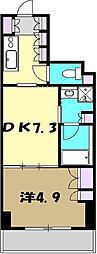 プライムアーバン小金井本町 5階1DKの間取り