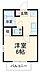 間取り,1K,面積19.87m2,賃料5.6万円,JR京浜東北・根岸線 川口駅 徒歩16分,,埼玉県川口市飯塚4丁目7-29