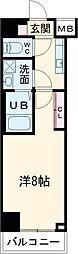 (仮称)レオーネ台東三ノ輪 5階1Kの間取り