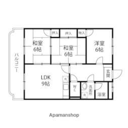 HOUSE2000 1階3LDKの間取り