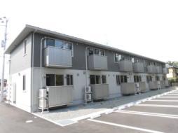 JR磐越東線 郡山駅 バス23分 阿久戸下車 徒歩4分の賃貸アパート