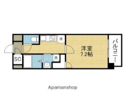 Osaka Metro千日前線 今里駅 徒歩8分の賃貸マンション 8階1Kの間取り