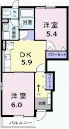 小木津駅 4.7万円