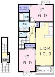小作駅 7.5万円