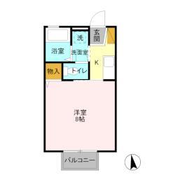 結城駅 3.4万円